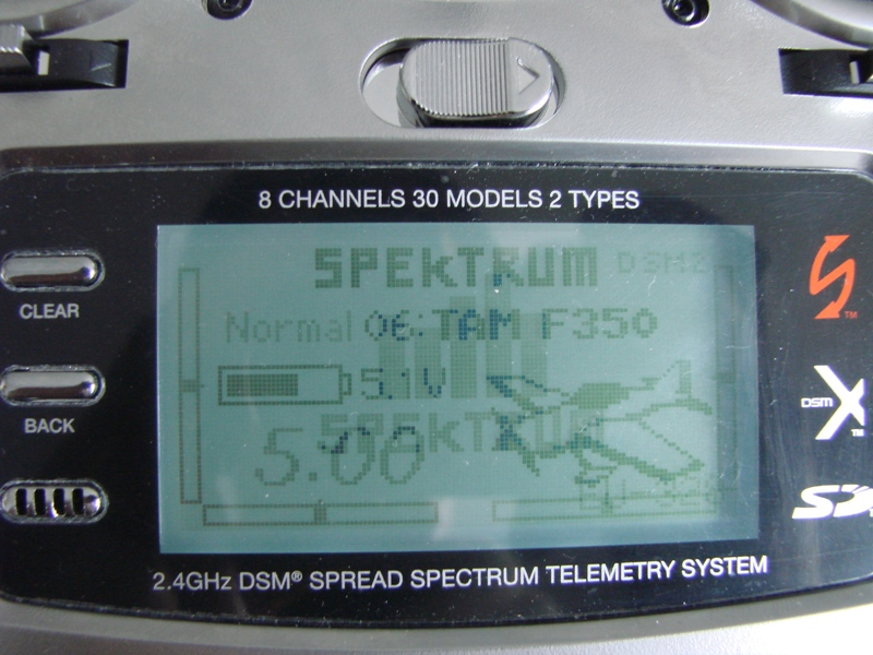 [Tuto] Radio Spectrum DX8 - Quelques astuces et reglages de base.  24