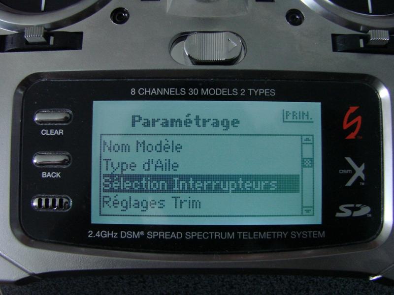 [Tuto] Radio Spectrum DX8 - Quelques astuces et reglages de base.  27