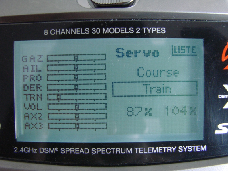 [Tuto] Radio Spectrum DX8 - Quelques astuces et reglages de base.  33