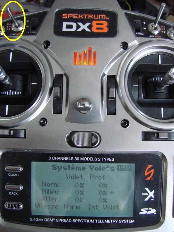 [Tuto] Radio Spectrum DX8 - Quelques astuces et reglages de base.  40