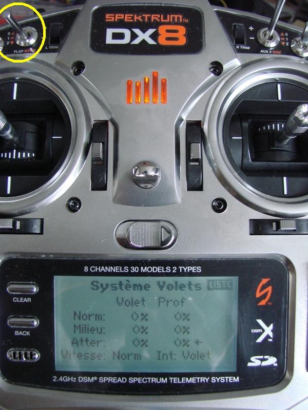 [Tuto] Radio Spectrum DX8 - Quelques astuces et reglages de base.  41