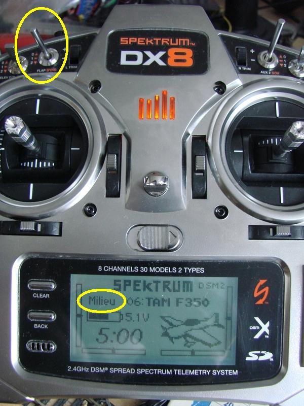 [Tuto] Radio Spectrum DX8 - Quelques astuces et reglages de base.  45
