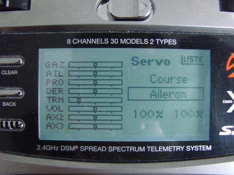 [Tuto] Radio Spectrum DX8 - Quelques astuces et reglages de base.  47
