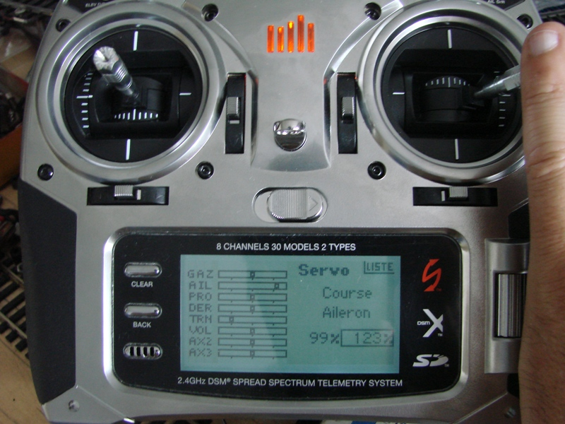[Tuto] Radio Spectrum DX8 - Quelques astuces et reglages de base.  50