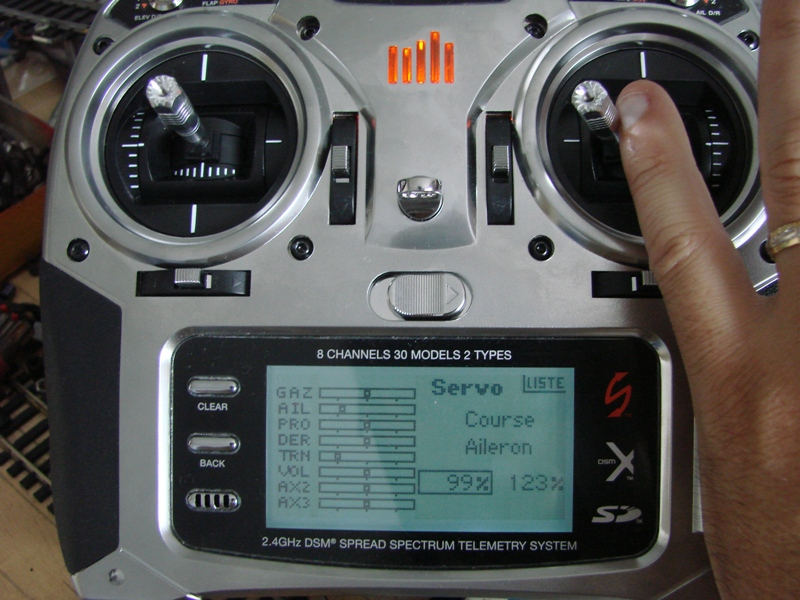 [Tuto] Radio Spectrum DX8 - Quelques astuces et reglages de base.  51