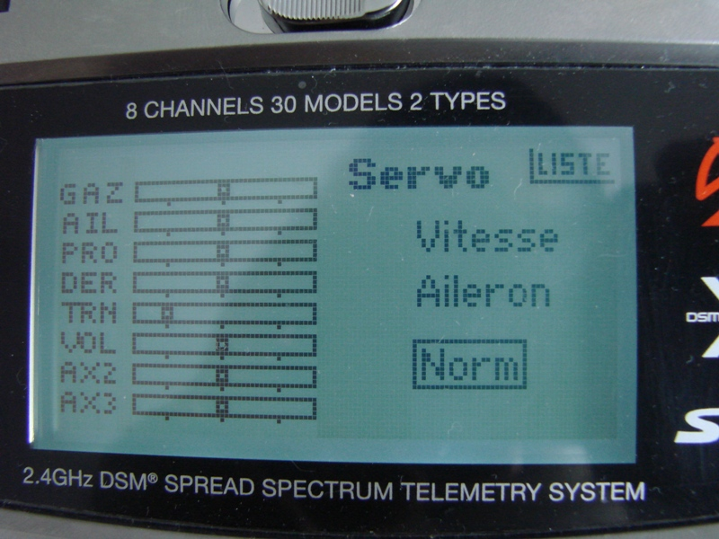[Tuto] Radio Spectrum DX8 - Quelques astuces et reglages de base.  52