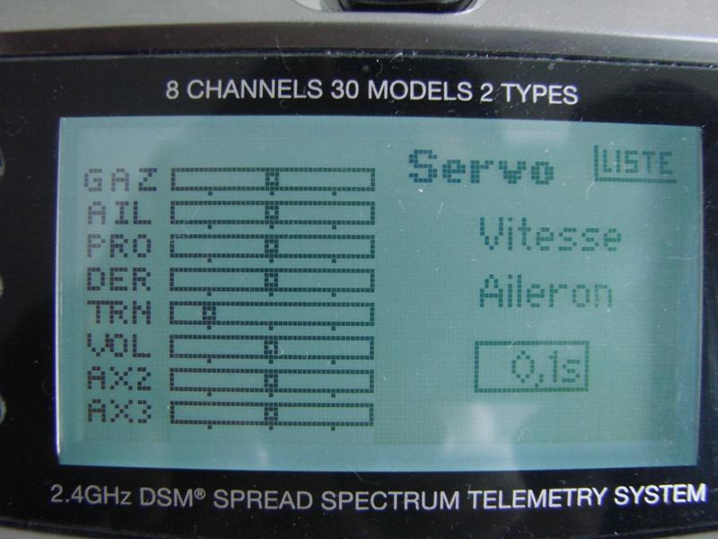 [Tuto] Radio Spectrum DX8 - Quelques astuces et reglages de base.  53