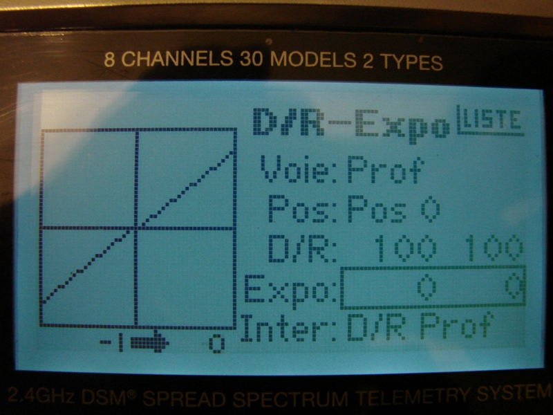 [Tuto] Radio Spectrum DX8 - Quelques astuces et reglages de base.  66
