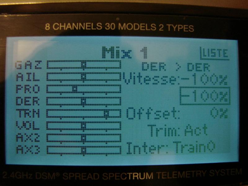 [Tuto] Radio Spectrum DX8 - Quelques astuces et reglages de base.  82