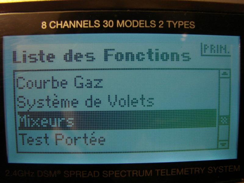 [Tuto] Radio Spectrum DX8 - Quelques astuces et reglages de base.  87