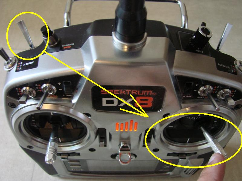 [Tuto] Radio Spectrum DX8 - Quelques astuces et reglages de base.  93