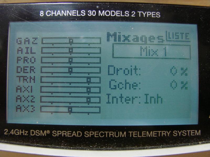 [Tuto] Radio Spectrum DX8 - Quelques astuces et reglages de base.  99