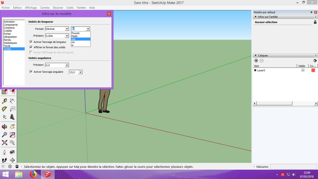 [Tuto] Modelisation 3D - Tuto 2 sur Sketchup - Importation, faire des groupes, modification de pieces. 101