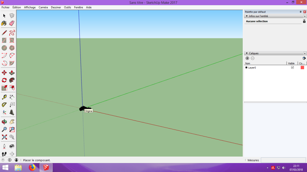 [Tuto] Modelisation 3D - Tuto 2 sur Sketchup - Importation, faire des groupes, modification de pieces. 112
