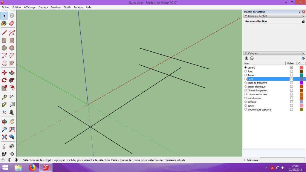 [Tuto] Modelisation 3D - Tuto 2 sur Sketchup - Importation, faire des groupes, modification de pieces. 125