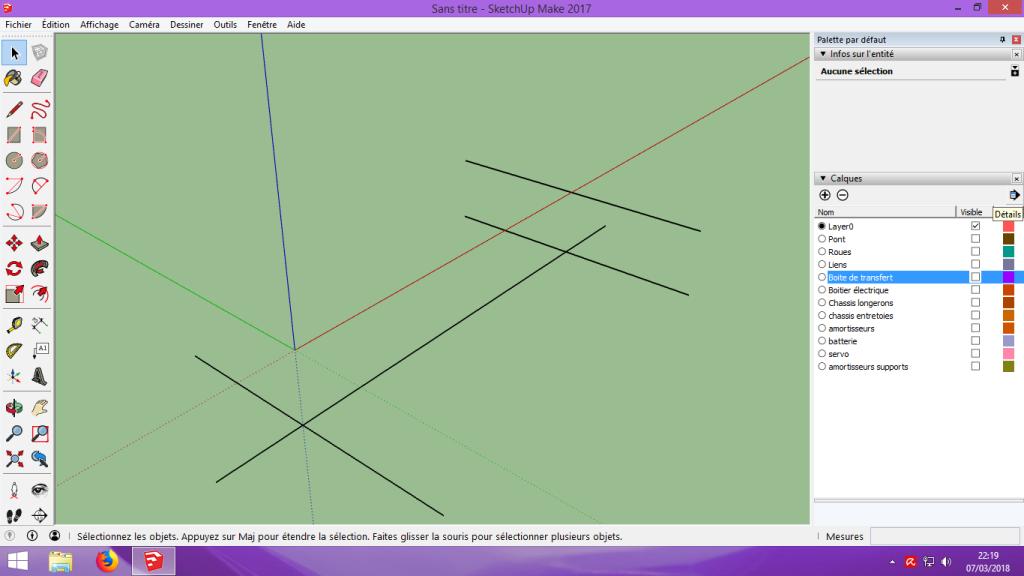 [Tuto] Modelisation 3D - Tuto 2 sur Sketchup - Importation, faire des groupes, modification de pieces. 129