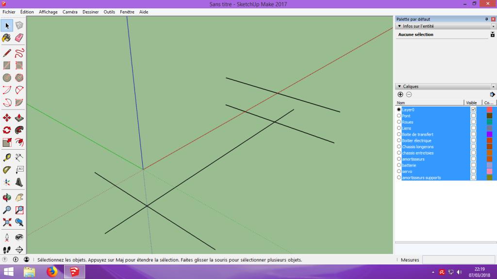 [Tuto] Modelisation 3D - Tuto 2 sur Sketchup - Importation, faire des groupes, modification de pieces. 131