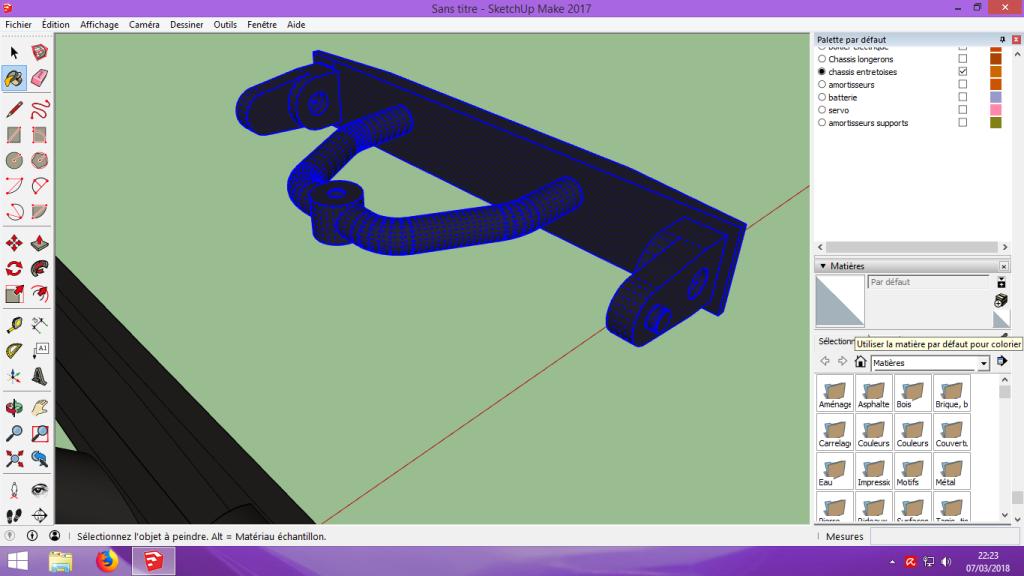 [Tuto] Modelisation 3D - Tuto 2 sur Sketchup - Importation, faire des groupes, modification de pieces. 156