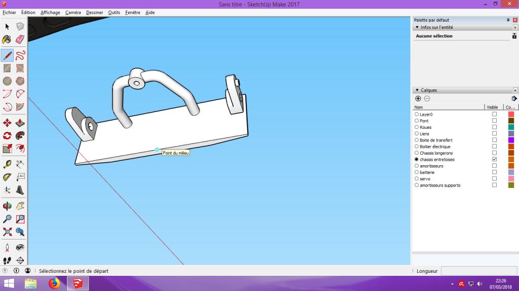 [Tuto] Modelisation 3D - Tuto 2 sur Sketchup - Importation, faire des groupes, modification de pieces. 162