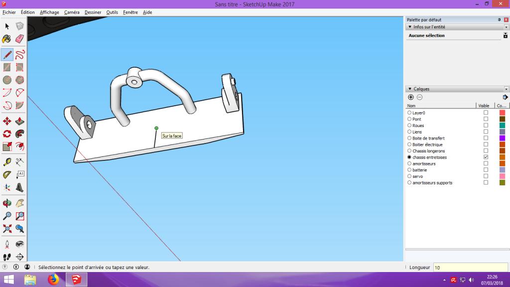 [Tuto] Modelisation 3D - Tuto 2 sur Sketchup - Importation, faire des groupes, modification de pieces. 163