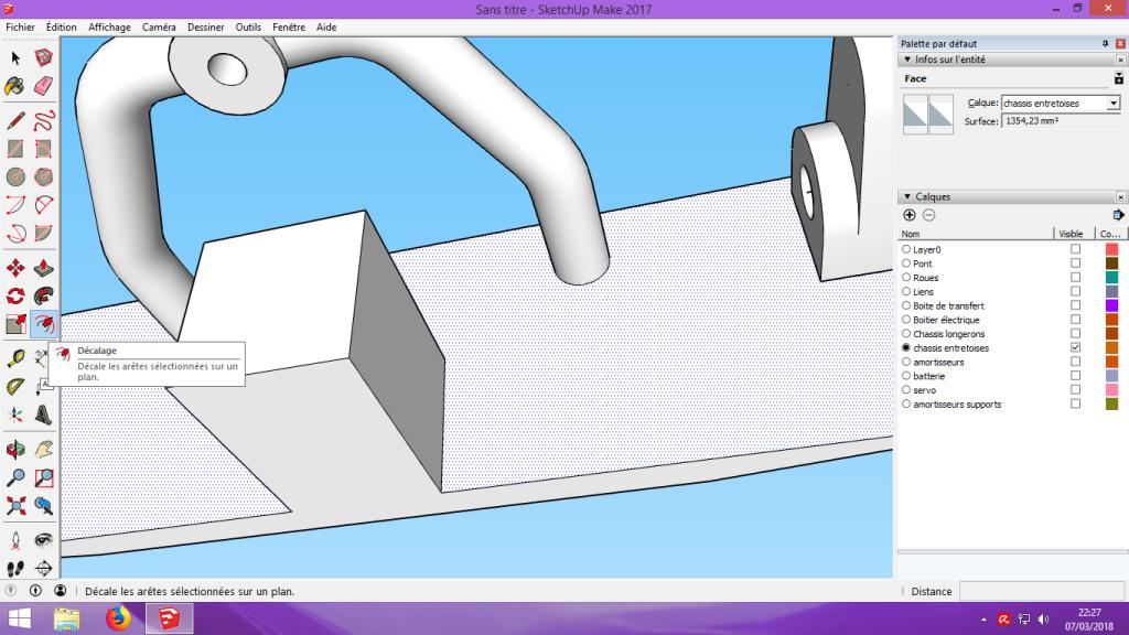 [Tuto] Modelisation 3D - Tuto 2 sur Sketchup - Importation, faire des groupes, modification de pieces. 167