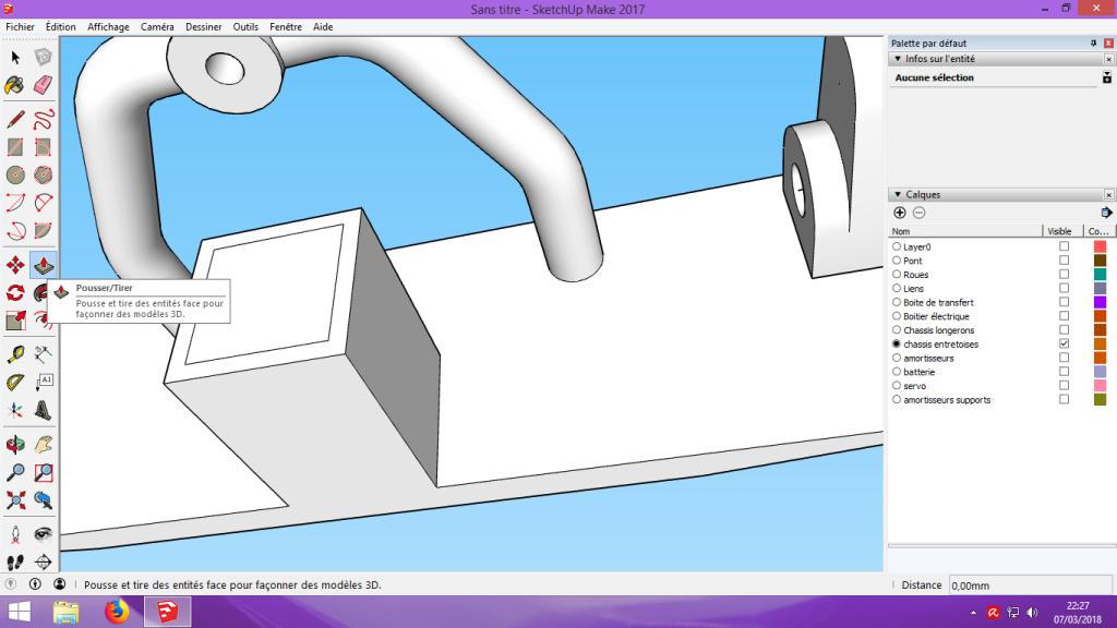 [Tuto] Modelisation 3D - Tuto 2 sur Sketchup - Importation, faire des groupes, modification de pieces. 169