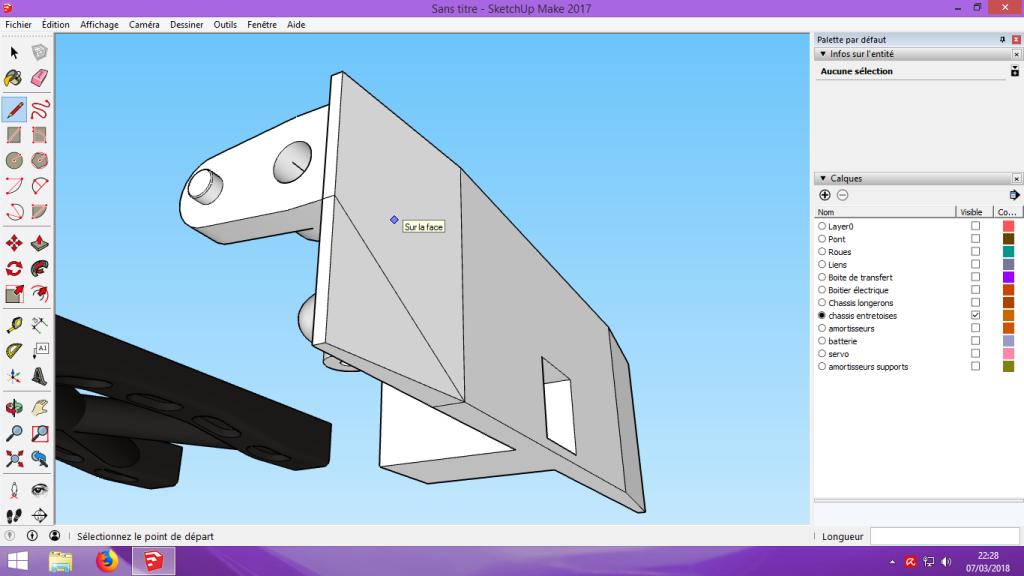 [Tuto] Modelisation 3D - Tuto 2 sur Sketchup - Importation, faire des groupes, modification de pieces. 172