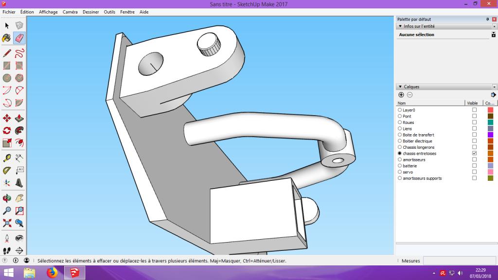 [Tuto] Modelisation 3D - Tuto 2 sur Sketchup - Importation, faire des groupes, modification de pieces. 177