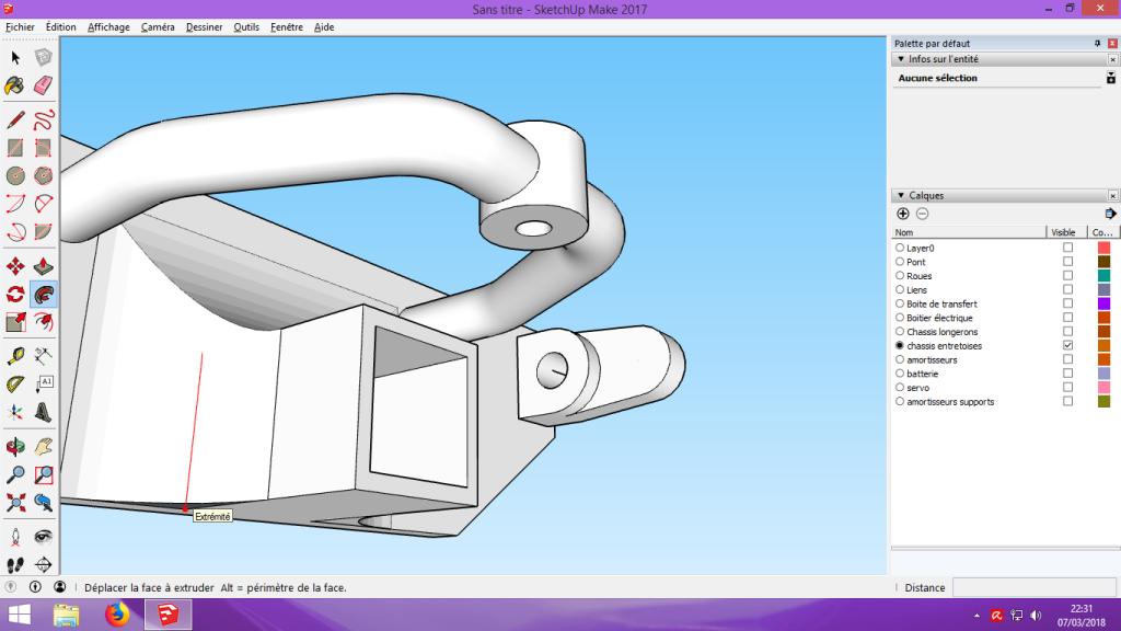 [Tuto] Modelisation 3D - Tuto 2 sur Sketchup - Importation, faire des groupes, modification de pieces. 183