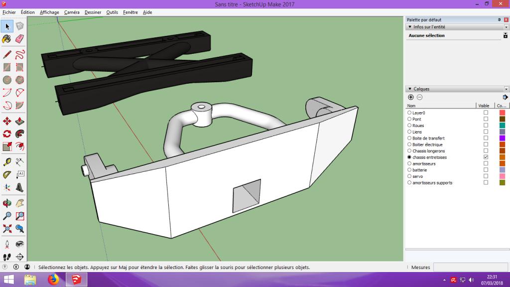 [Tuto] Modelisation 3D - Tuto 2 sur Sketchup - Importation, faire des groupes, modification de pieces. 186