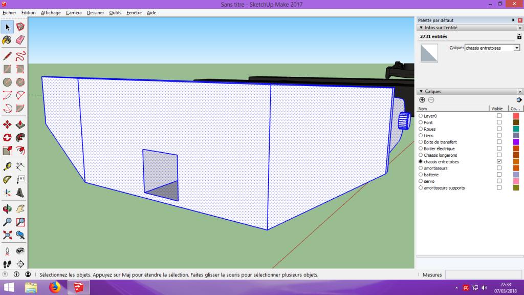 [Tuto] Modelisation 3D - Tuto 2 sur Sketchup - Importation, faire des groupes, modification de pieces. 192