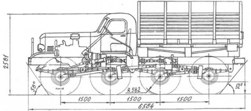 Venom Creeper - Axial SCX10 - ZIS E134 1955 - 8x8 ou 12x12 avec la remorque 010