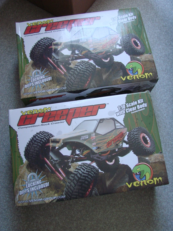 Venom Creeper - Axial SCX10 - ZIS E134 1955 - 8x8 ou 12x12 avec la remorque 012