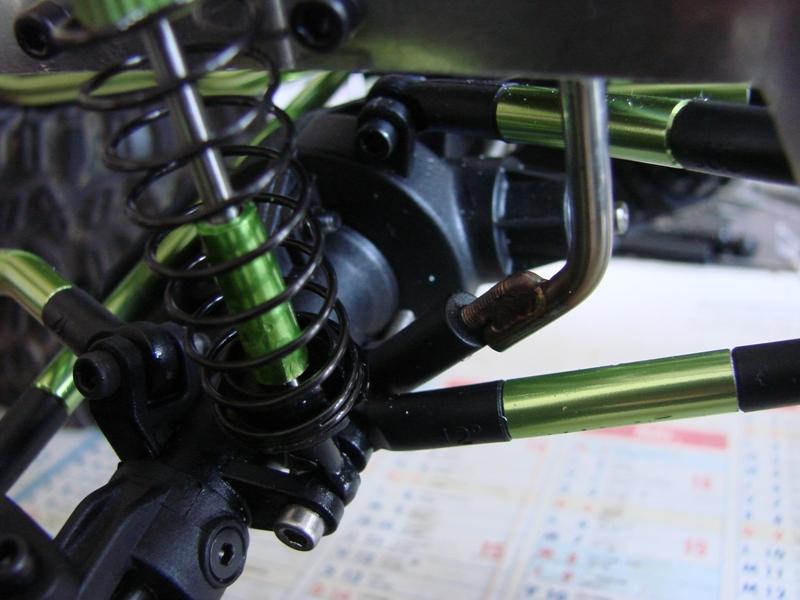 Venom Creeper - Axial SCX10 - ZIS E134 1955 - 8x8 ou 12x12 avec la remorque 061