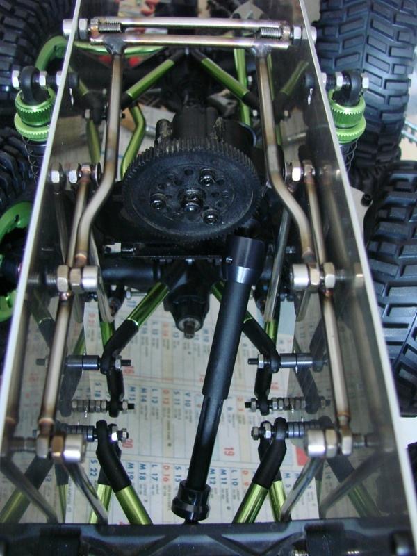 Venom Creeper - Axial SCX10 - ZIS E134 1955 - 8x8 ou 12x12 avec la remorque 063