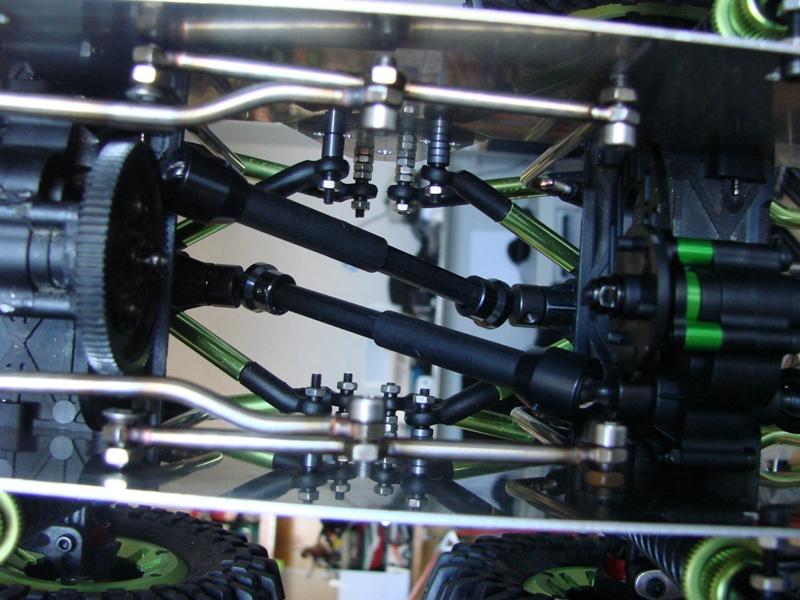 Venom Creeper - Axial SCX10 - ZIS E134 1955 - 8x8 ou 12x12 avec la remorque 077