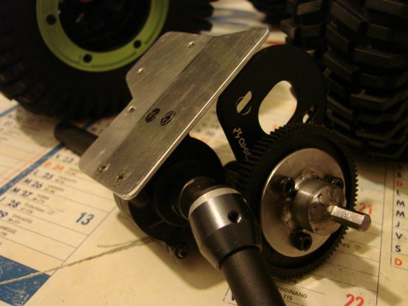 Venom Creeper - Axial SCX10 - ZIS E134 1955 - 8x8 ou 12x12 avec la remorque 087