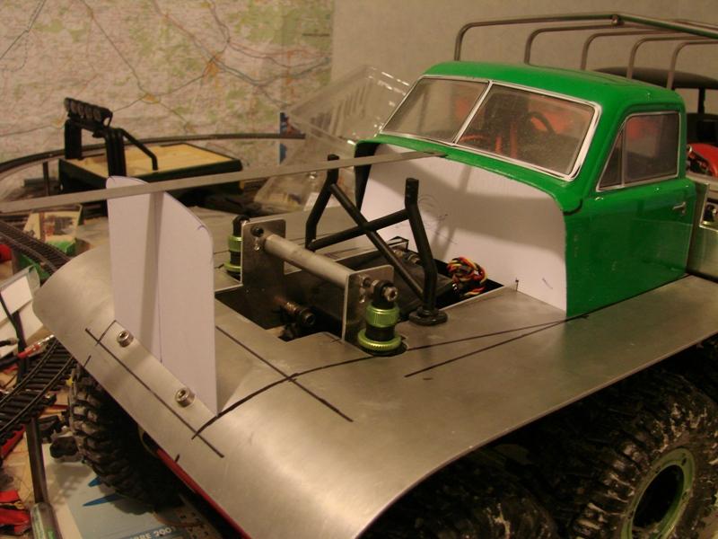 Venom Creeper - Axial SCX10 - ZIS E134 1955 - 8x8 ou 12x12 avec la remorque 151