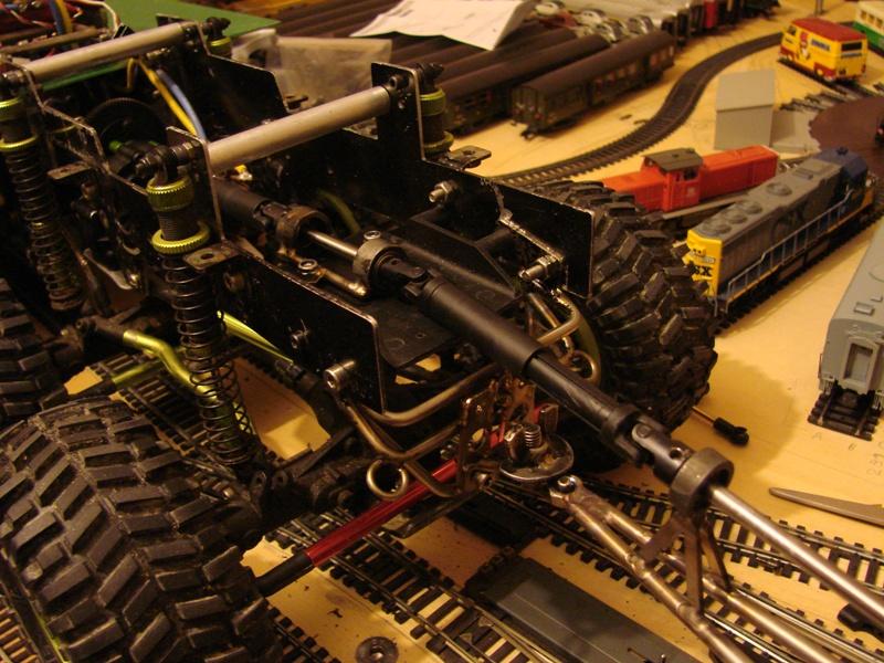 Venom Creeper - Axial SCX10 - ZIS E134 1955 - 8x8 ou 12x12 avec la remorque 213
