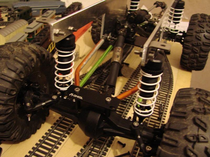 Venom Creeper - Axial SCX10 - ZIS E134 1955 - 8x8 ou 12x12 avec la remorque 219