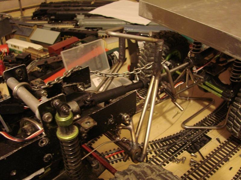 Venom Creeper - Axial SCX10 - ZIS E134 1955 - 8x8 ou 12x12 avec la remorque 227