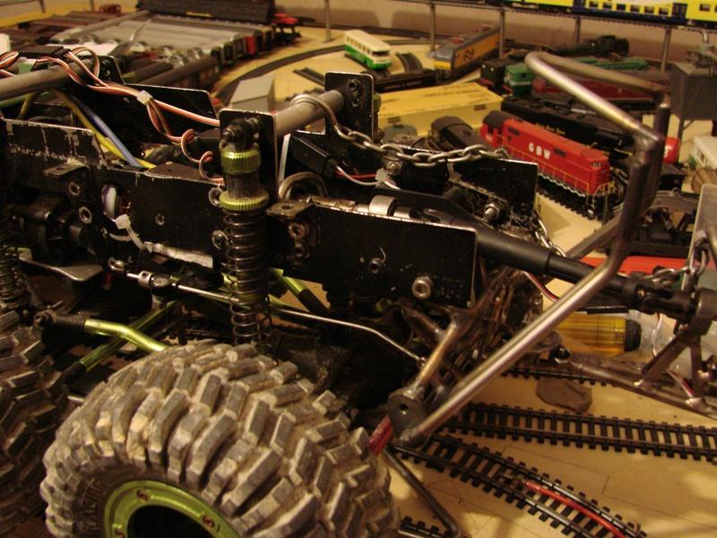 Venom Creeper - Axial SCX10 - ZIS E134 1955 - 8x8 ou 12x12 avec la remorque 229