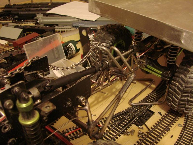 Venom Creeper - Axial SCX10 - ZIS E134 1955 - 8x8 ou 12x12 avec la remorque 232