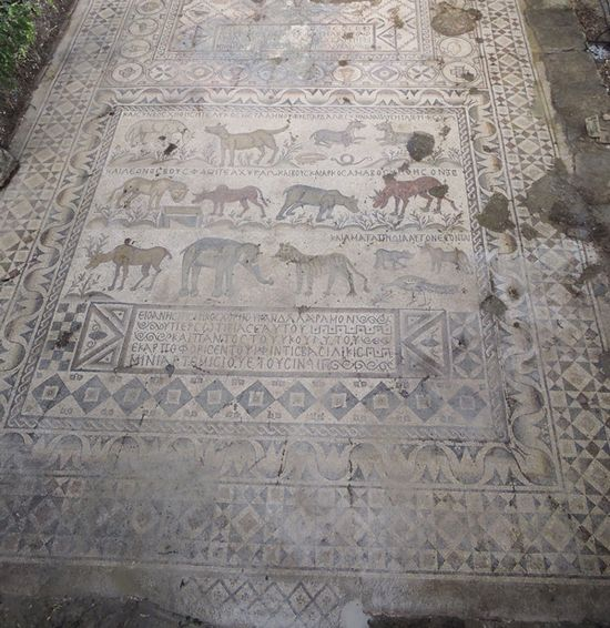 Библия и археология - Страница 2 Turkeymosaic1