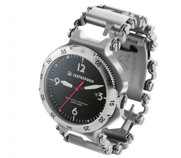Un reloj para los manitas Leatherman-tread
