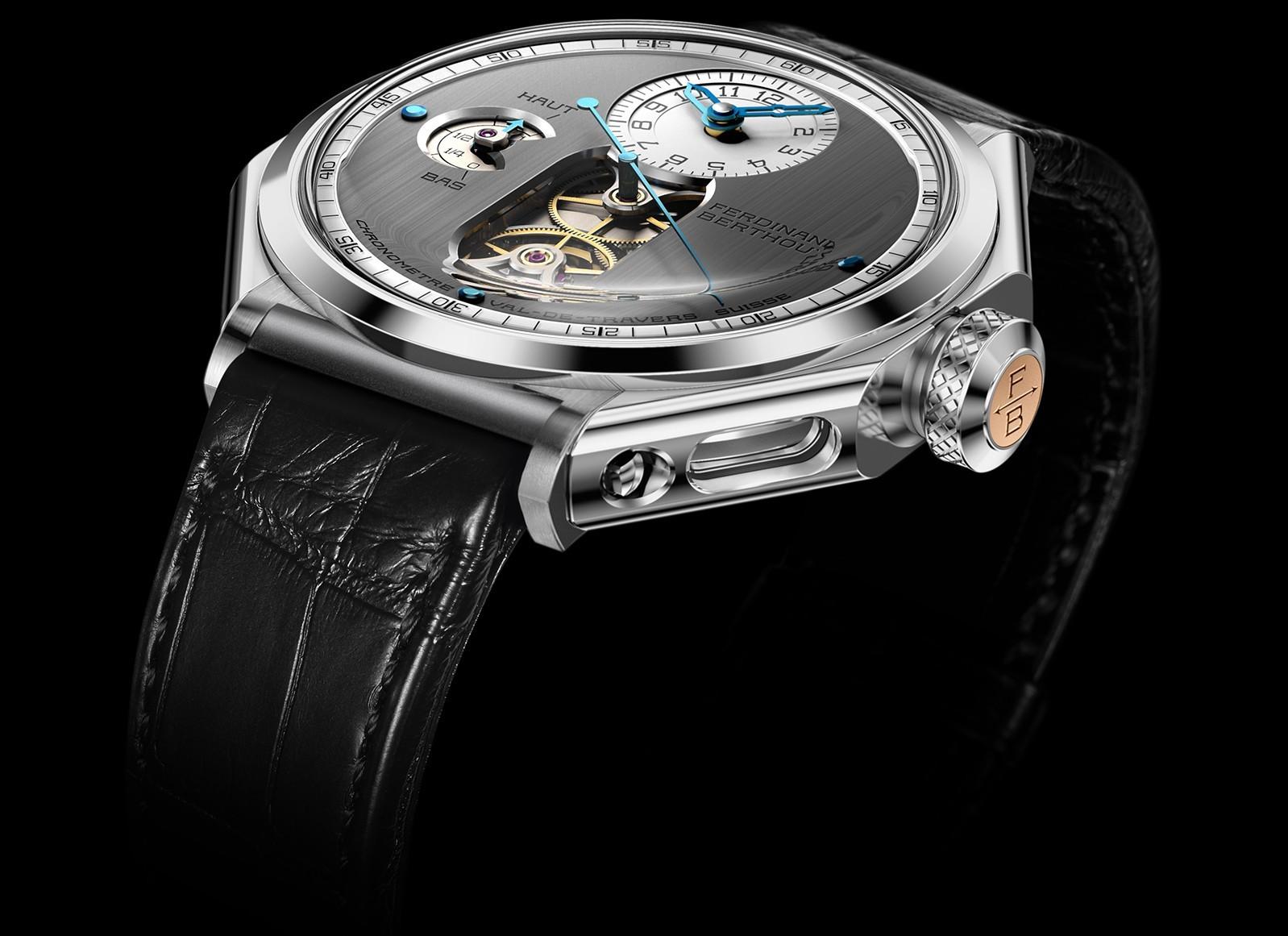 Grand Prix d'Horlogerie de Genève : L'Aiguille d'Or pour Ferdinand Berthoud FB-1_Top-B_WhiteGold_BB-FINAL-2