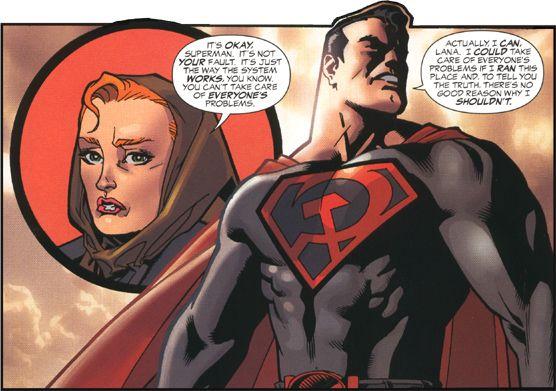 Vos lectures de livres avec des Images - Page 5 Superman-red-son