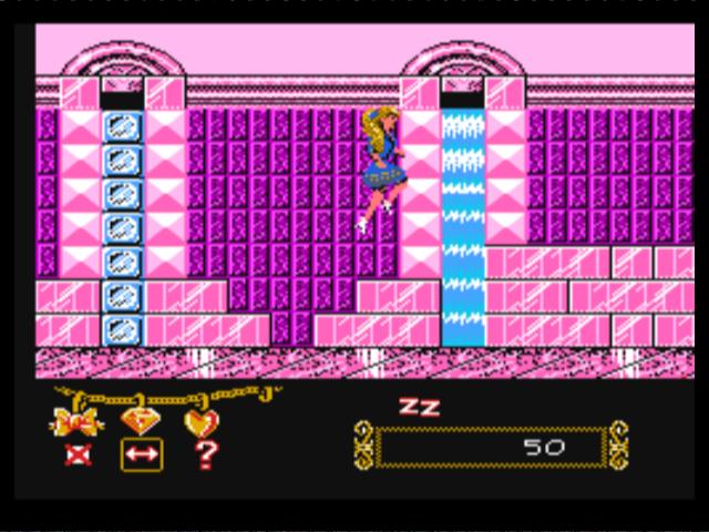 А помните, когда то?.../ Vai atceraties kādreiz?.... Barbie-nes-gameplay-screenshot-3