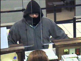 Atraca un banco y sale con una hipoteca a 30 años Atracador