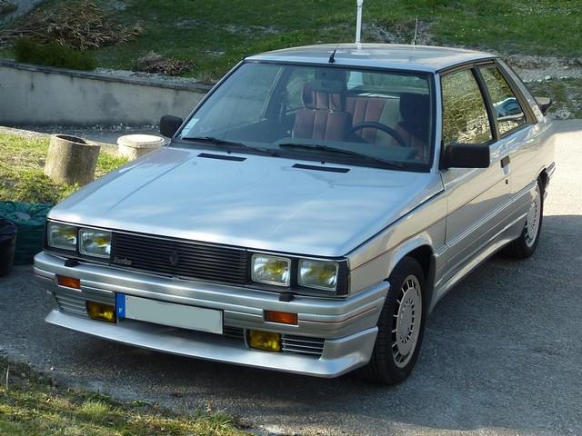 Renault 11 Turbo Zender Av